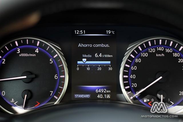 Prueba: Infiniti Q50 2.2d GT (equipamiento, comportamiento, conclusión) 9