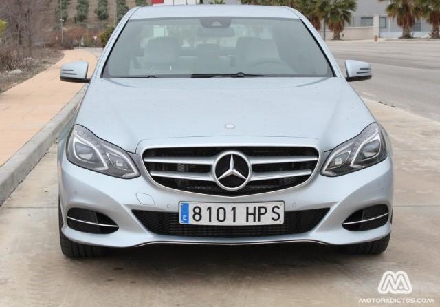 Prueba Mercedes E350 BlueTEC 252 caballos (diseño, habitáculo, mecánica) 1