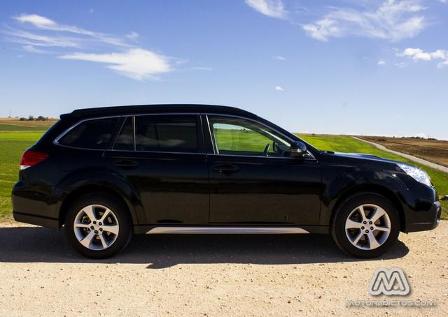 Prueba: Subaru Outback Diésel Lineartronic  (diseño, habitáculo, mecánica) 2