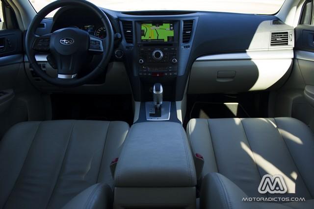 Prueba: Subaru Outback Diésel Lineartronic  (diseño, habitáculo, mecánica) 8