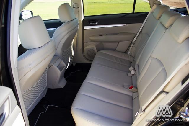 Prueba: Subaru Outback Diésel Lineartronic  (diseño, habitáculo, mecánica) 9
