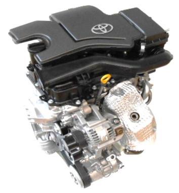 Toyota presenta sus dos nuevos propulsores de baja cilindrada atmosféricos 2