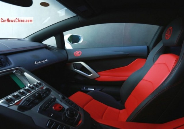 Un Lamborghini Aventador muy especial para Jackie Chan 3