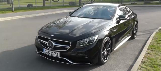 Vídeo: ¿Cómo se ve el Mercedes S63 AMG Coupé en la calle? 1