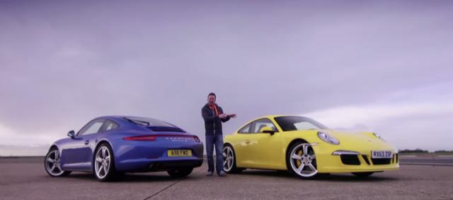 Video: Porsche 911, pero de tracción trasera o total 1