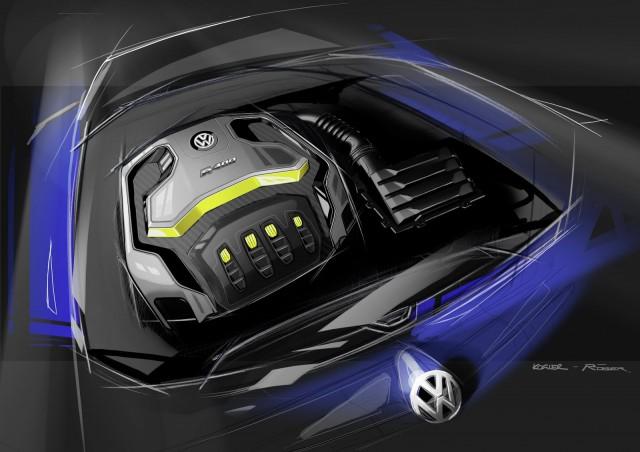 Volkswagen Golf R 400 Concept: 400 CV de camino a Pekín 3