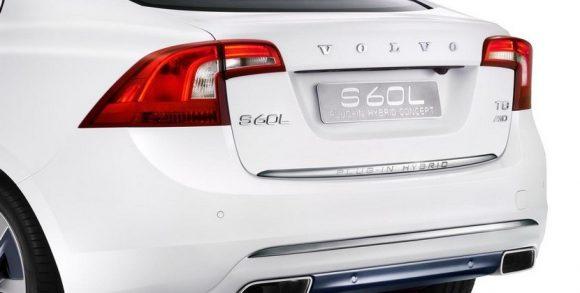 Volvo S60L Plug-in Hybrid, también presente en el Salón de Pekín