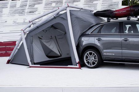 Audi lleva al Wörthersee un Q3 con tienda de campaña