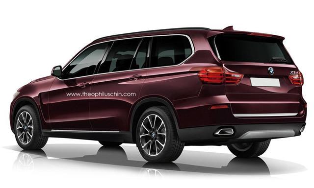 Así podría ser el BMW X7 2