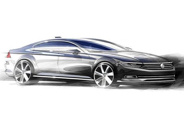 El próximo Volkswagen Passat perderá casi 100 kilos y debutará en julio