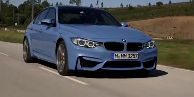 Autocar se sube el nuevo BMW M3 1