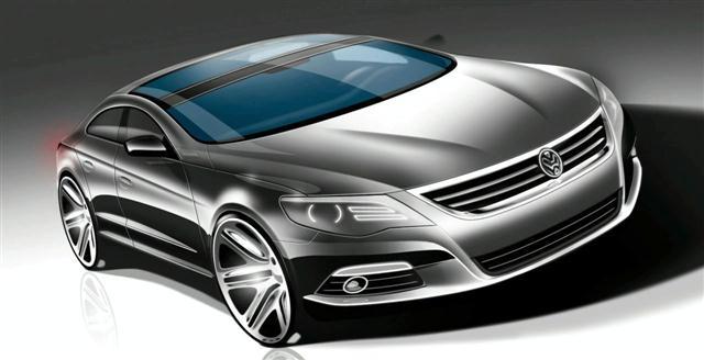 El Volkswagen Passat CC Fastback podría llegar al mercado 1