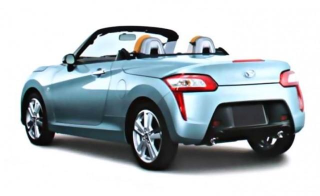 ¿Es este el nuevo Daihatsu Copen? 1