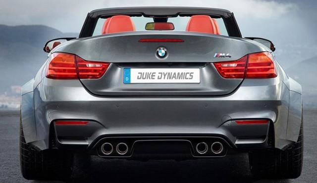 Este es el BMW M4 que nos proponen desde Duke Dynamics 1