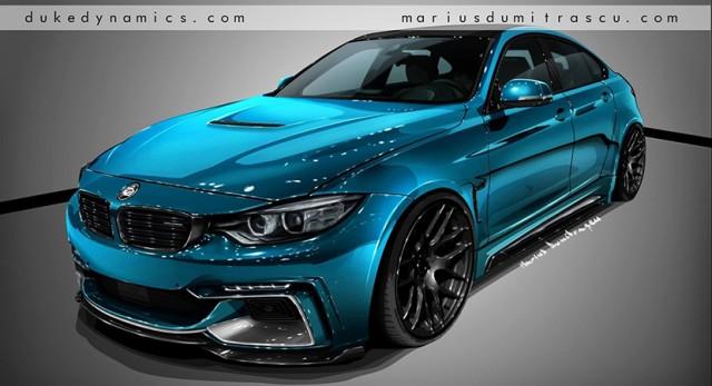 Este es el BMW M4 que nos proponen desde Duke Dynamics 2