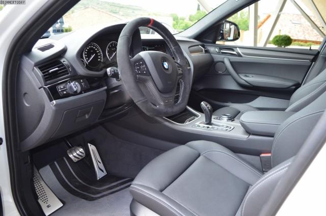 Este es el BMW X4 ataviado con el paquete M Performance 3