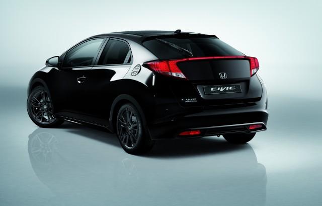 """Honda presentará la """"Black Edition"""" del Civic en el Salón de Madrid 2"""