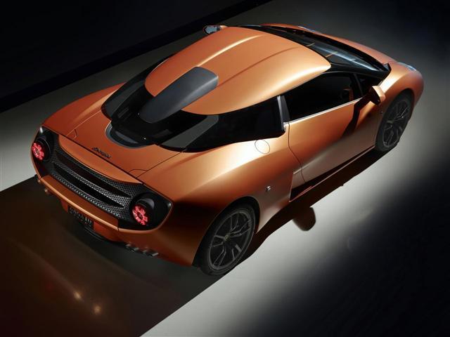 Lamborghini 5-95 Zagato, único e irrepetible 1