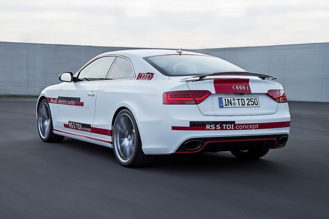 Llega el Audi RS5 TDI-e Concept, un deportivo que te sorprenderá 1