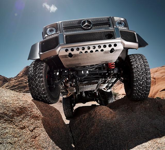 Mercedes renueva su mastodonte G63 AMG 6x6 1