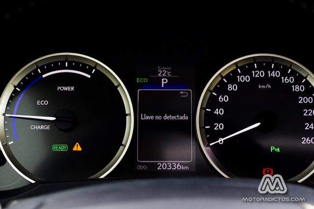 Prueba: Lexus IS300h Híbrido (diseño, habitáculo, mecánica) 6