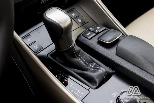 Prueba: Lexus IS300h Híbrido (diseño, habitáculo, mecánica) 7