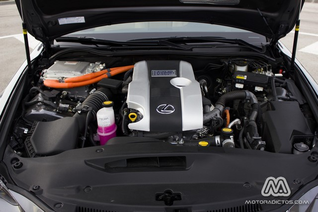 Prueba: Lexus IS300h Híbrido (diseño, habitáculo, mecánica) 10