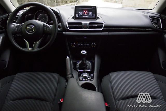 Prueba: Mazda 3 SkyActiv-G 100 CV (diseño, habitáculo, mecánica) 3