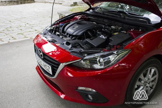 Prueba: Mazda 3 SkyActiv-G 100 CV (diseño, habitáculo, mecánica) 4