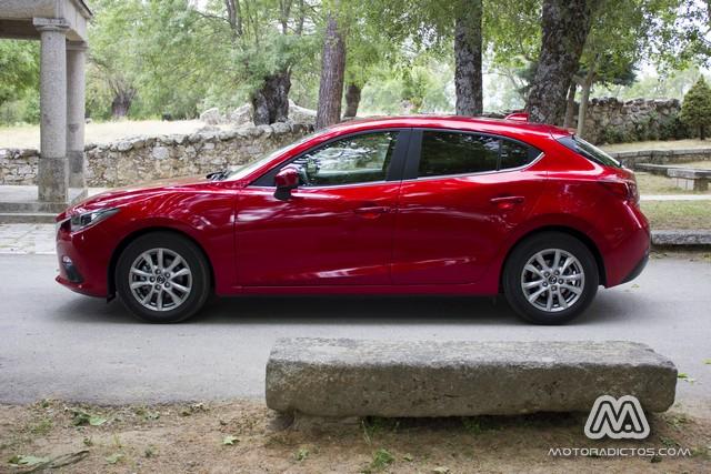 Prueba: Mazda 3 SkyActiv-G 100 CV (diseño, habitáculo, mecánica) 6