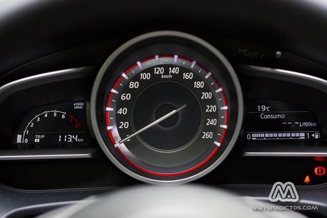 Prueba: Mazda 3 SkyActiv-G 100 CV (diseño, habitáculo, mecánica) 7