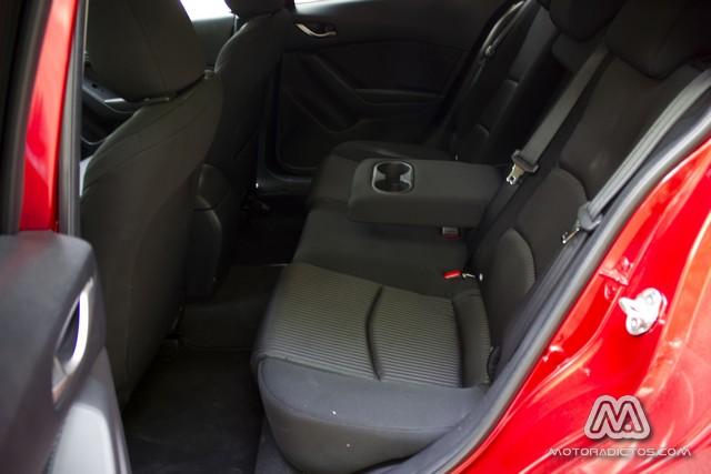 Prueba: Mazda 3 SkyActiv-G 100 CV (diseño, habitáculo, mecánica) 8