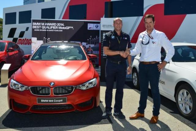 "Un BMW M4 Coupé para el ""poleman"" de MotoGP 1"