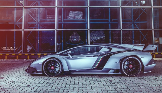 Un segundo Lamborghini Veneno vuela con destino Hong Kong 2