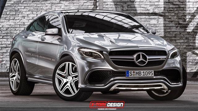 Mercedes ML Coupe, así se llamará el Concept Coupe SUV definitivo