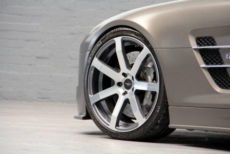 Mercedes SLS AMG por DD Customs