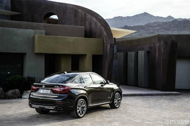 ¡Aquí está! Nuevo BMW X6, filtrado en todo su esplendor 2