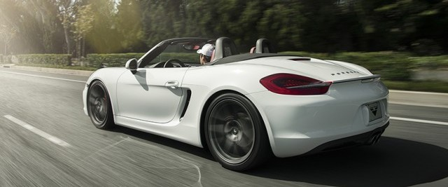 Así luce el Porsche Boxster S de Vorsteiner 1