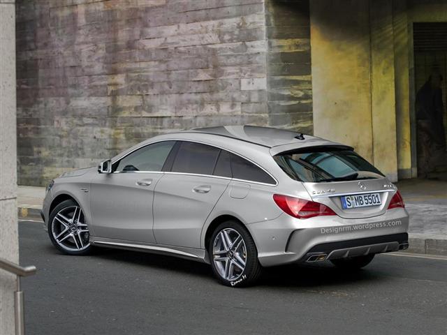 Así será el Mercedes CLA 45 AMG Shooting Brake 1