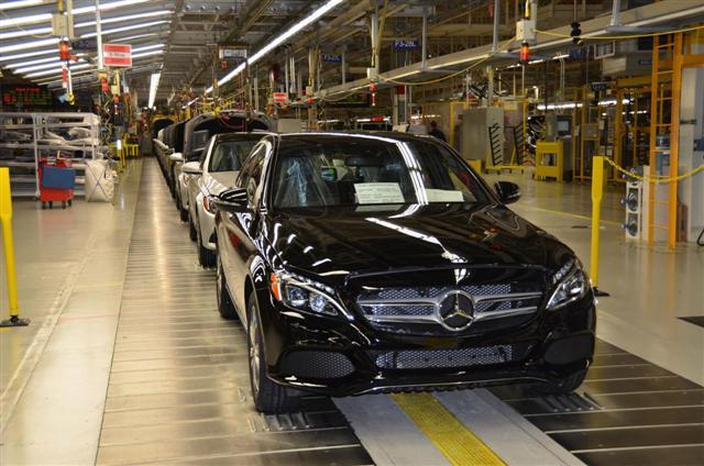 Comienza la producción del Mercedes Clase C norteamericano 2