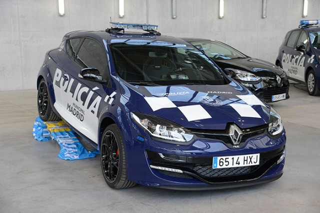 Dos Renault Mégane RS para la Policía Municipal de Madrid 1