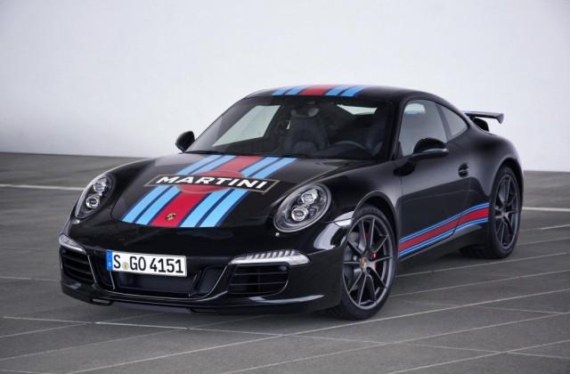 El Porsche 911 Carrera S estra edición especial Martini 1