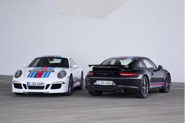 El Porsche 911 Carrera S estra edición especial Martini 2