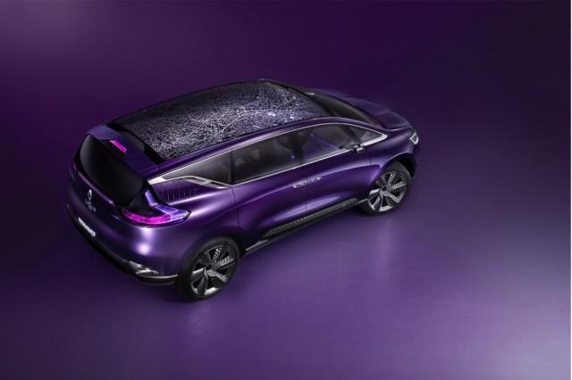 El primer modelo Initiale Paris de Renault estará presente en el Salón de París 1