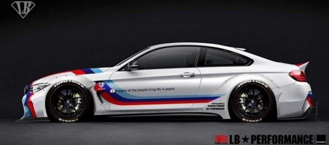Este es el BMW Serie 4 de Liberty Walk 3