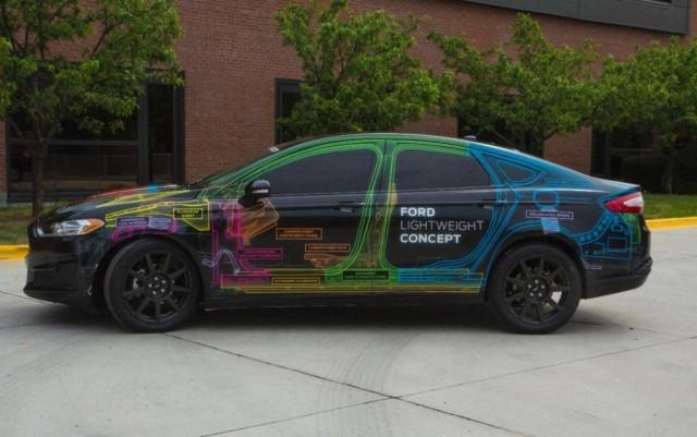 Ford Lightweight Concept: Un Mondeo con el peso de un Fiesta 2
