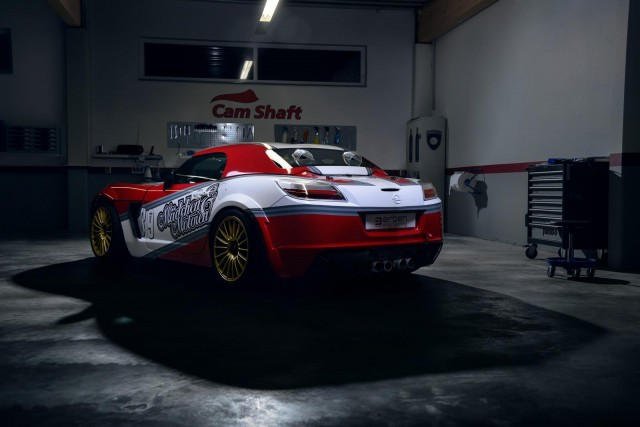 Mädchen & Motoren nos muestran su Opel GT V8 2