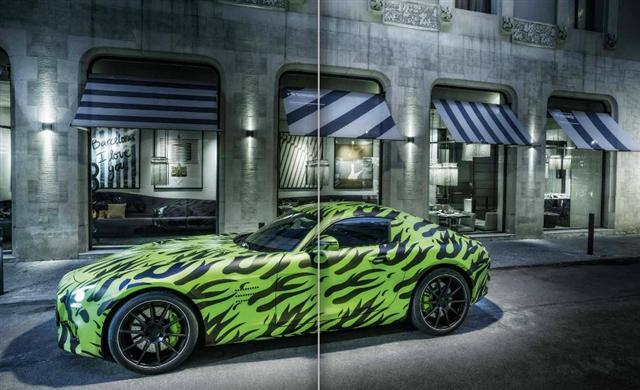 Más información del Mercedes AMG GT 2