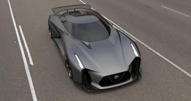 Nissan Concept Vision 2020 Gran Turismo: ¿Un avance del R36? 1