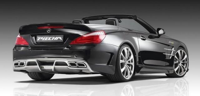 Piecha Design se atreve con el Mercedes SL 1